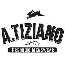 A. Tiziano menswear brand logo