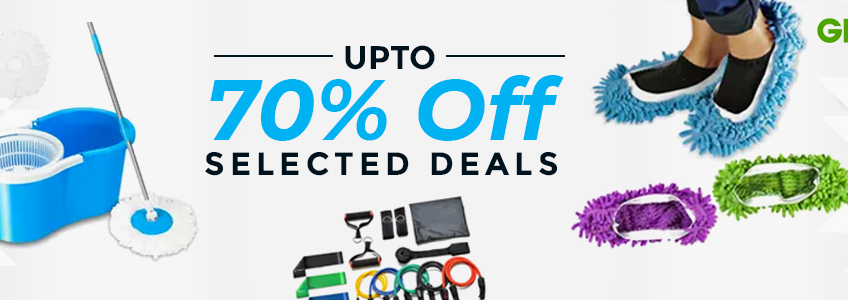banners of 70% off coupon, codes and vouchers